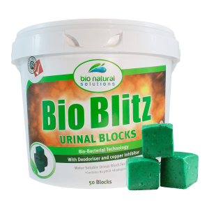 50 Block Tub of Bio Blitz Urinal Blocks